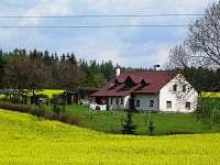 Chalupa k pronajmutí - okolí Bělovse