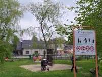 dětské hřiště v Rybníku -