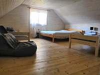 ložnice 4 lůžka - pronájem chaty Rybník