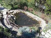 pohled z balkónu - Rybník