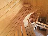 sauna - chata k pronájmu Rybník