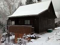 Zima v Srnově - chata k pronájmu Rybník