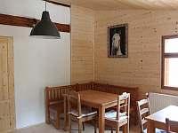 Společenská místnost - ubytování Hroubovice