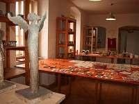 vnitřní prostor galerie