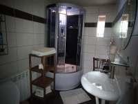 Koupelna s WC - Janovičky u Broumova