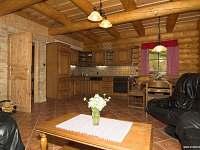 Kuchyńský kout - srub ubytování Maršov nad Metují