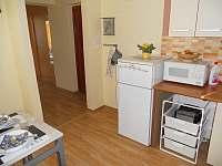 kuchyň - apartmán k pronajmutí Seč
