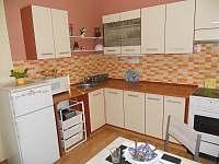 kuchyň - apartmán k pronájmu Seč