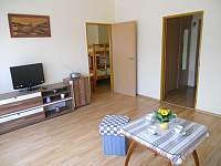obývací pokoj - apartmán k pronajmutí Seč