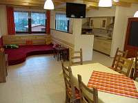 Společenská místnost s dětským koutem