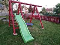 Dětské hřiště - apartmán k pronajmutí Tisovec