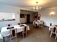 společenská místnost - ubytování Chornice