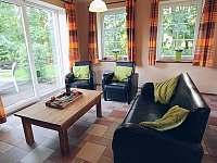 Obývací pokoj 1 - chalupa ubytování Božanov