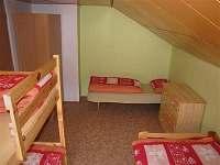 Ložnice - chata ubytování Svojanov