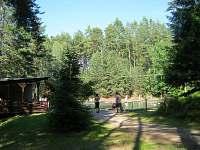 Koupaliště Bor u Skutče - chata ubytování Proseč
