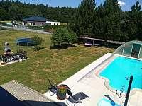 Bazén-pohled z okna