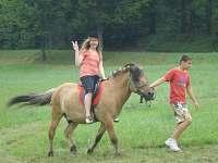 Projížďka na koni