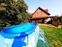 Bazén - chalupa k pronájmu Choustníkovo Hradiště