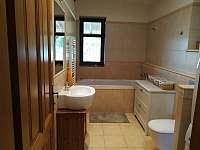 koupelna dole - chalupa k pronajmutí Choustníkovo Hradiště