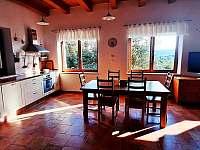 Kuchyň - chalupa ubytování Choustníkovo Hradiště