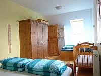 ložnice 2 - chalupa k pronajmutí Choustníkovo Hradiště