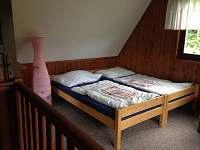 2.ložnice - chata ubytování Opatov Zádolka