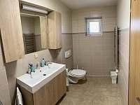 Koupelna - chata k pronajmutí Janovičky