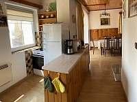 Kuchyně - pronájem chaty Janovičky