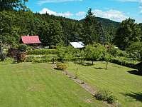 Zahrada - chata k pronajmutí Janovičky