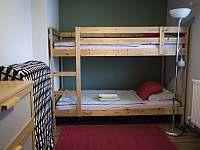 dětská ložnice - chata k pronajmutí Přívrat u Litomyšle
