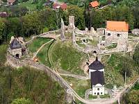 hrad Potštejn - chata k pronajmutí Přívrat u Litomyšle