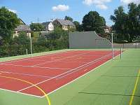 tenisový kurt Přívrat - pronájem chaty