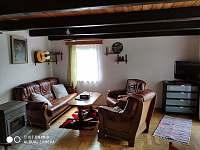 Obývací pokoj - chata k pronájmu Míčov - Sušice - Rudov