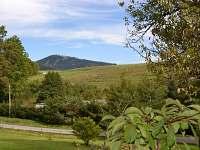 Pohled z terasy na Ruprechtický špičák