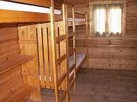 Interiér srubu - chatky ubytování Náchod