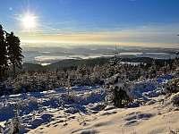Jestřebí hory, běžecká trasa - Jívka u Adršpachu