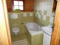 součástí každého pokoje je vybavená koupelna - ubytování Horní Radechová
