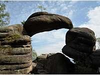 užasné scenerie skalních útvarů