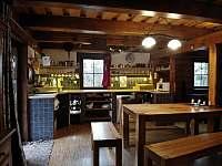 kuchyň - chalupa ubytování Velké Petrovice