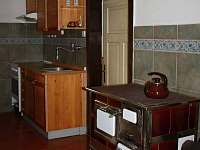 Kuchyňka s kamny