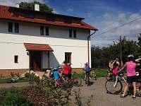 Okolí je ideální pro malé i velké cyklisty