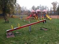 Dětské hřiště v Třebechovicích u Sokolovny