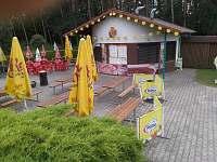 Občerstvení na koupališti v Třebechovicích