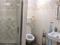 Koupelna v přízemí - chalupa k pronájmu Česká Metuje