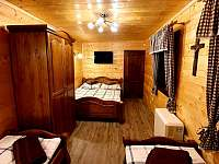 Ložnice 1 - chalupa k pronájmu Nahořany - Lhota