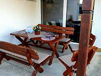 Venkovní posezení u sauny - Nahořany - Lhota