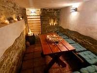 Vinný sklep - pronájem chalupy Nahořany - Lhota