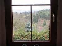 Pohled z okna kuchyně