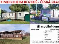 Česká Skalice léto 2018 pronájem
