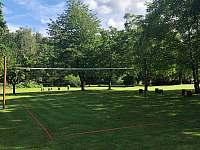 Volejbalové hřiště - apartmán ubytování Vyžice - Slavkovice